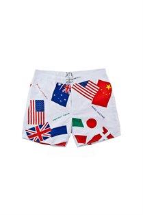 Men's Swim Flag Short