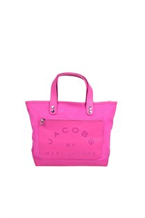 Laminated Twill Jacobs Small Tote