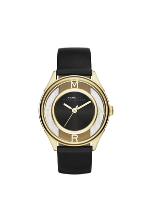 tether 36 ion plating gold black strap