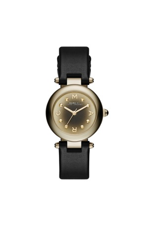 dotty 26 ion plating gold black strap
