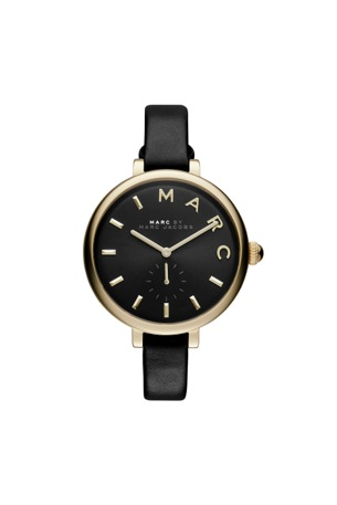 sally 36 ion plating gold black strap