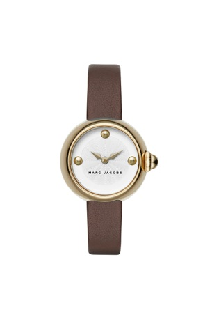 courtney 28 ion plating brown strap